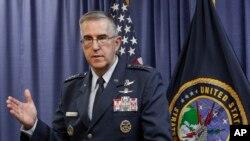 Генерал ВВС Джон Э. Хайтен