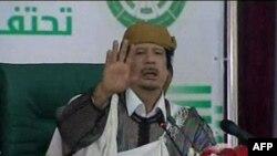 Муаммар Каддафи. Кадры ливийского телевидения. 2 марта 2011 года