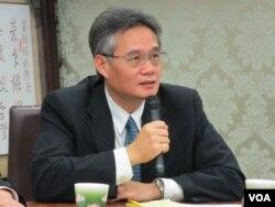 台湾淡江大学战略研究所教授翁明贤 (资料照片)