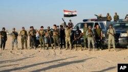 Mayakan sa akai na Sunni dake marawa dakarun Iraqi baya wajen kwato birnin Ramadi