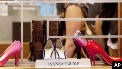 İvanka Tramp brendinin ayaqqabıları