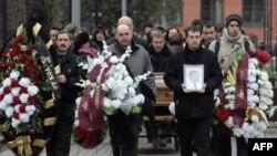 Похороны Сергея Магнитского 20 ноября 2009 год