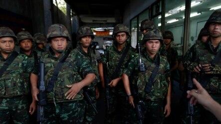Thái Lan đã bị đặt trong tình trạng thiết quân luật sau cuộc đảo chính hồi năm ngoái.