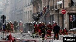 این انفجار در یک فروشگاه نانوایی در مرکز پاریس به وقوع پیوسته است
