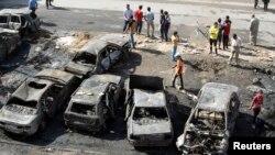 27일 이라크 수도 바그다드와 북부 지역에서 폭탄 공격이 일어났다.