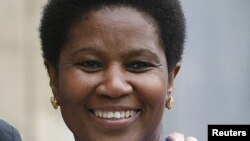 FILE - Phumzile Mlambo-Ngcuka.