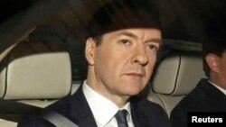Cựu Bộ trưởng Tài chính Anh George Osborne.
