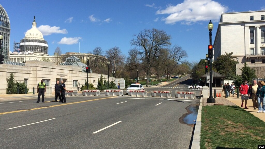 Police Shoot Gunman at US Capitol Complex