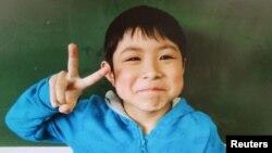 지난달 28일 일본 홋카이도의 숲에서 실종된 후 일주일 만에 무사히 귀환한 7살 다노오카 야마토 군. (자료사진)