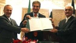پاکستان، افغانستان و ایران همکاری های خود را گسترش می دهند