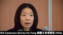 香港大學公民社會與治理研究中心主任李詠怡 (攝影﹕美國之音湯惠芸)