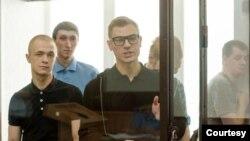 """Обвиняемые по делу """"Сети"""" в суде, Пенза, август 2019 года"""