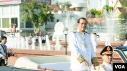 柬埔寨首相洪森資料照。