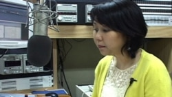 Suu Myat Mon, host of Burmese call-in program