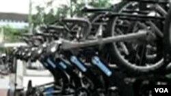 London akan menyediakan 6 ribu sepeda untuk disewa di 400 stasiun di seluruh kota.