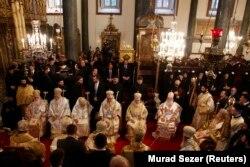 2014 yılında İstanbul'da bir araya gelen Ortodoks kilisesi liderleri