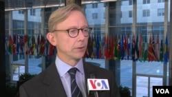 Брайан Хук, спецпредставитель Госдепартамента по Ирану