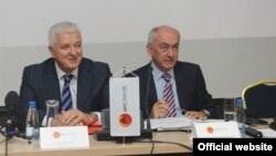 Duško Marković, crnogorski ministar pravde (levo, arhivski snimak)