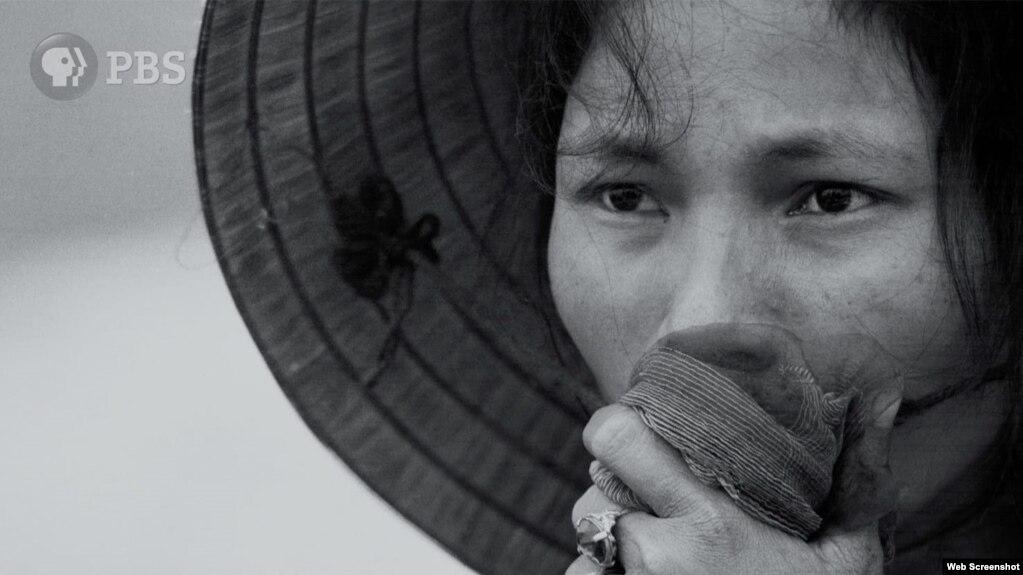 Một cảnh trong The Vietnam War, PBS.