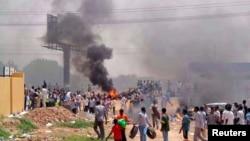 蘇丹喀土穆發生騷亂