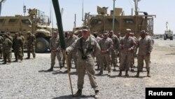 Американские морские пехотинцы вернулись в афганскую провинцию Гильменд. Афганистан. 29 апреля 2017 г.