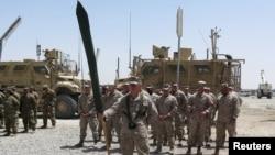အာဖဂနစၥတန္ ႏုိင္ငံ Helmand ျပည္နယ္ ေတာင္ပိုင္းမွာ အေမရိကန္ မရိန္းတပ္ဖြဲ႔က ျပန္လည္ တပ္စခန္းခ် ( ဧၿပီ ၂၉-၂၀၁၇)