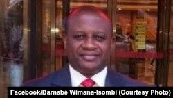 Barnabé Milinganyo Wimana, mokambi ya Rassemblement des leaders congolais, na Kinshasa, 21 aout 2018. (Facebook/Barnabé Wimana-Isombia)