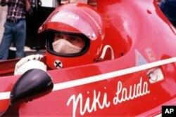 Niki Lauda, sebagai pembalap dalam tim Ferrari