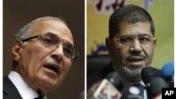 Ахмед Шафик и Мохаммед Морси