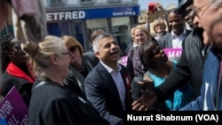 Walikota London, Sadiq Khan, menjadi orang Asia paling berpengaruh pada tahun 2016. (foto: Nusrat Shabnum/VOA)