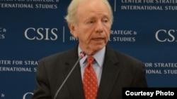美国联邦参议员利伯曼在CSIS演讲