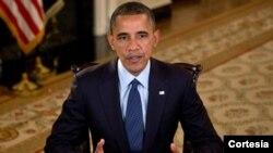White House, 13. listopad 2012.