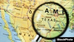 Bản đồ khu vực Austin, Texas.
