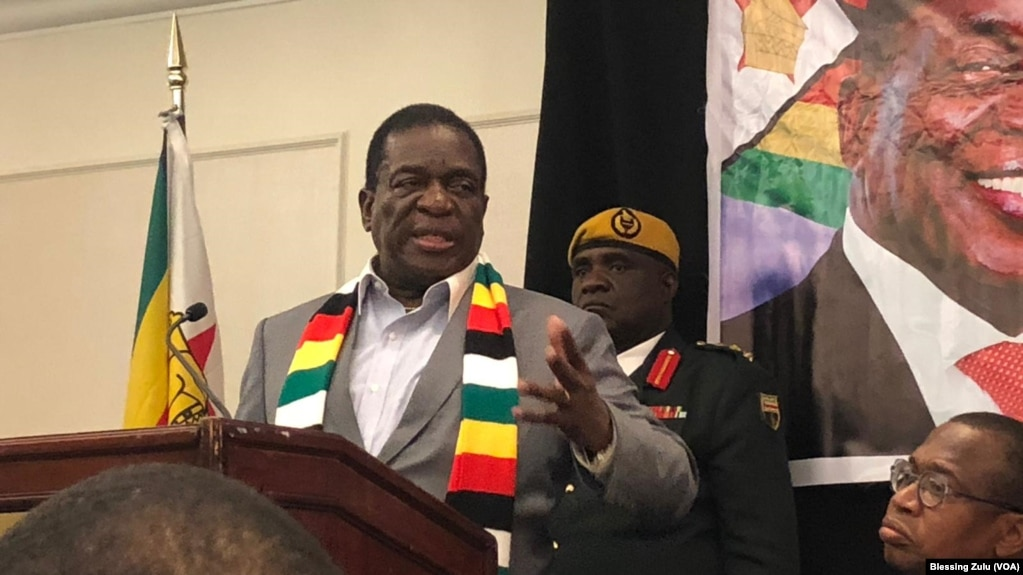 Zimbabwe Govt Defends $500,000 Deal With U.S Company Lobbying for Sanctions Removal