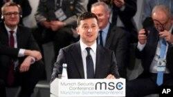 Владимир Зеленский на Мюнхенской конференции