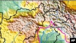 امریکی جیولوجیکل سروے کے مطابق زلزلے کامقام