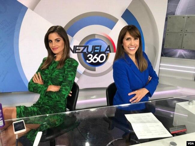 Venezuela 360 es conducido por las periodistas Nathaly Salas Guaithero y Carolina Valladares.