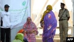 Des Mauritaniennes lors de l'élection présidentielle, à Nouakchott, le 21 juin 2014.