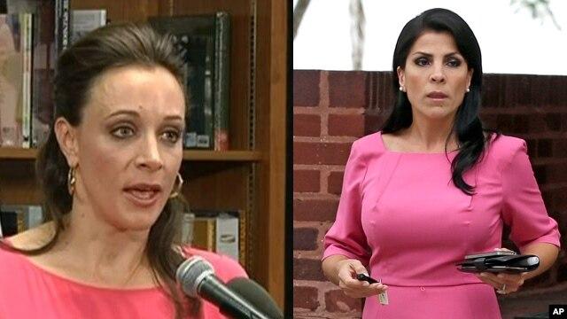 Las dos implicadas en el escándalo del general Petraeus: Paula Broadwell y Jill Kelley.