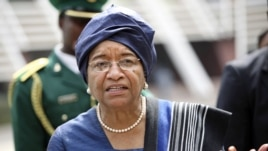 Liberia's President Ellen Johnson Sirleaf (file photo).
