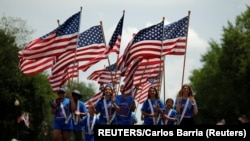 Washingtonska parada povodom obilježavanja Dana nezavisnosti (Foto:REUTERS/Carlos Barria)