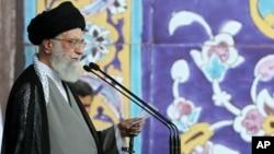 အီရန္ ဘာသာေရး ေခါင္းေဆာင္ Ayatollah Ali Khamenei