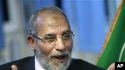 Mohammed Badie, un des leaders des Frères Musulmans.