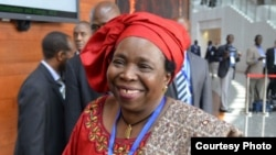 African Union Commission Chairperson Dr. Nkosazana Dlamini-Zuma.