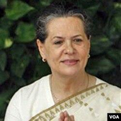 Presiden Partai Kongres India, Sonia Gandhi