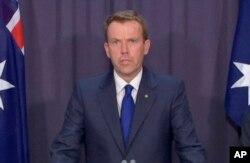 资料照:澳大利亚教育部长丹·特汉