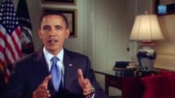 پیام رسمی پرزیدنت اوباما در ارتباط با طرح مبارزه برای پاکسازی نفت در سواحل خلیج مکزیک