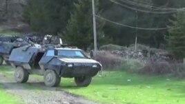 Policia maqedonase aksion në fshatin Malinë