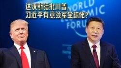 焦点对话:达沃斯暗批川普,习近平有意领军全球化?