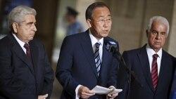 مذاکرات قبرس بدون توافق در ژنو به پایان رسید